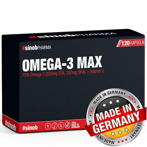 OMEGA-3 MAX 120 LIQUID CAPS