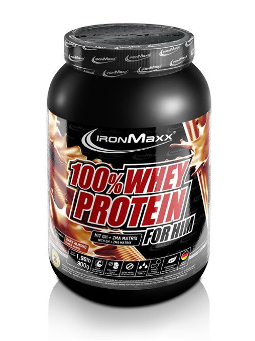IronMaxx - Whey Protein 900g for Him