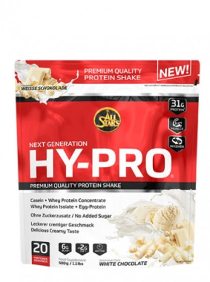 All Stars Hy-Pro, 500 g Beutel