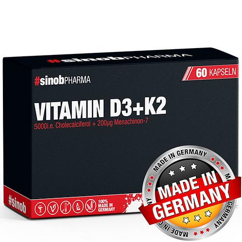 VITAMIN D3+K2 60 VEGANE KAPSELN