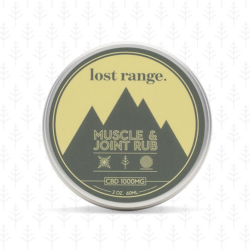 lost range Muscle and Joint Rub