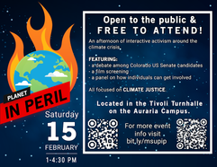 Planet in Peril: Climate Change Rally