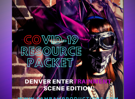 Denver Music Community COVID-19 Resource Packet
