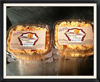 Little Bill's Pimento Cheese is a Kansas City-based company, selling pimento cheese at local farmers' markets.