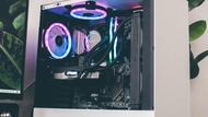 RGB White Computer Case