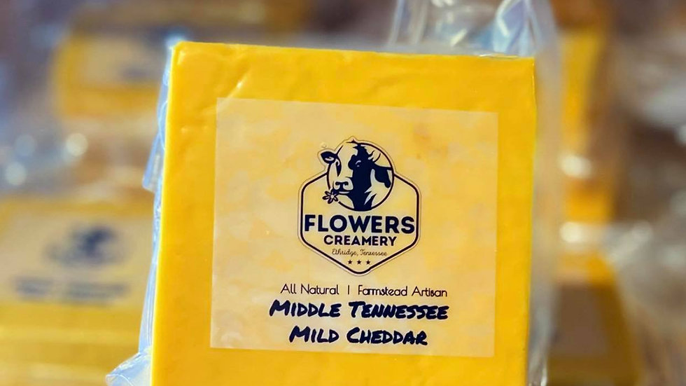 Middle Tennessee Mild Cheddar | 8oz