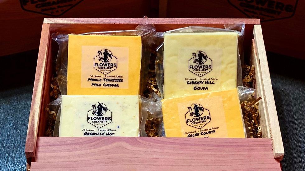 Four Cheese Gift Box Set