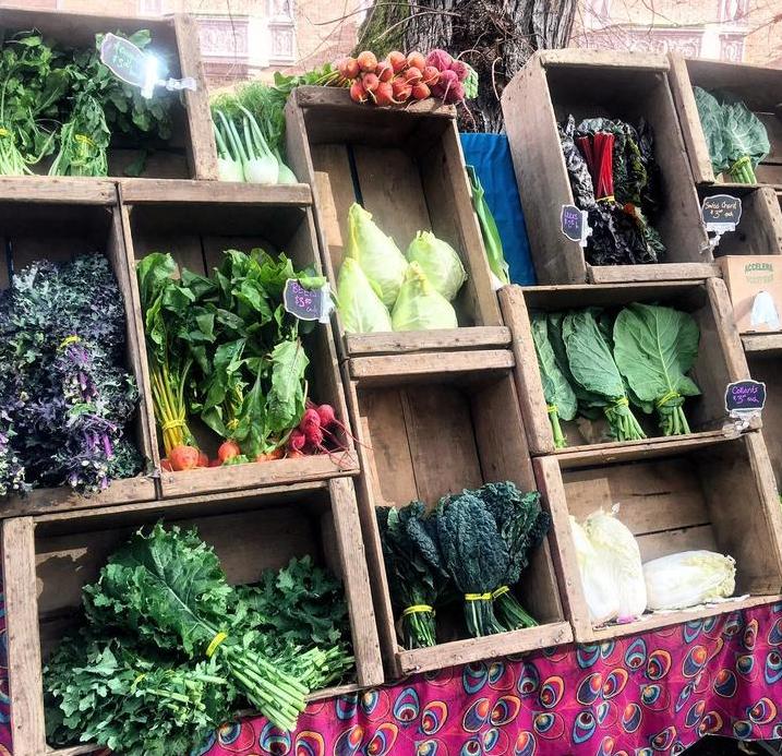 Farmers' Market at Portland State University
