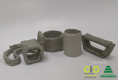 Concrete 3D Printing Research