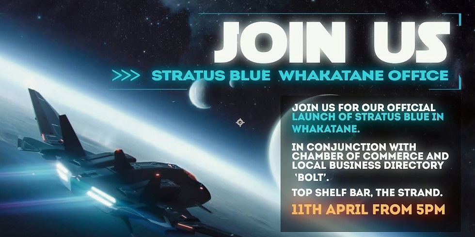 OFFICIAL LAUNCH EVENT: STRATUS BLUE WHAKATANE