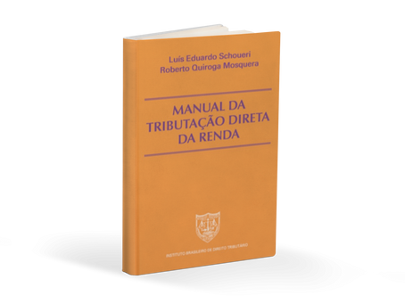 Livro - Manual da Tributação Direta da Renda