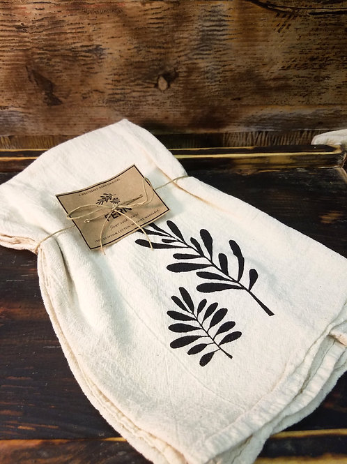 Fern Flour Sack Towel