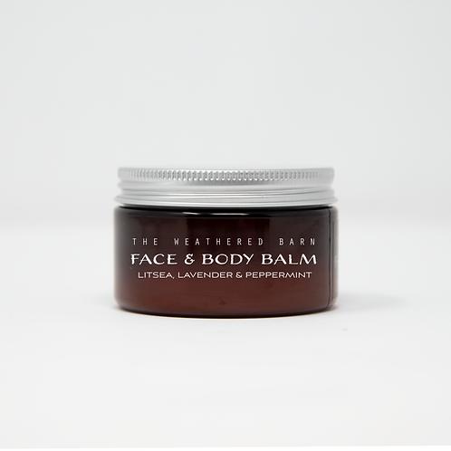 Litsea-Lavender-Peppermint Face & Body Balm