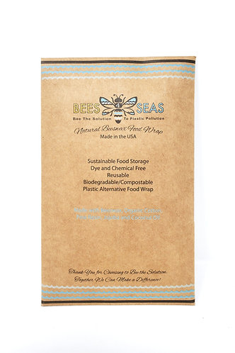 Beeswax Food-Safe Wraps