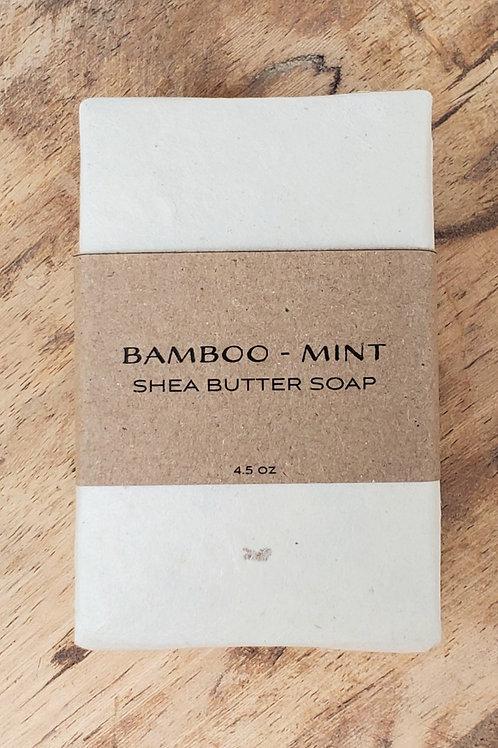 Bamboo-Mint Shea Butter Soap