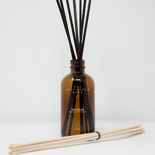 Bonsai Reed Diffuser Set