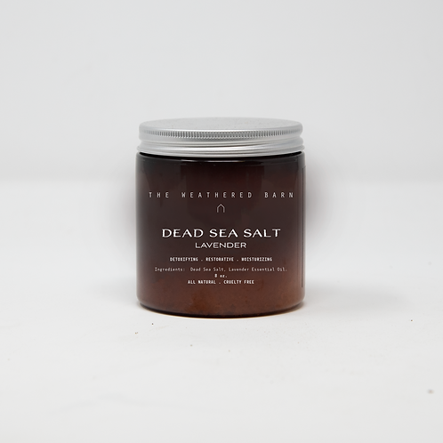 Lavender Scented Dead Sea Salts