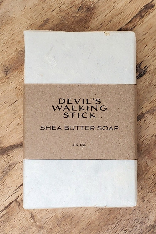 Devil's Walking Stick Shea Butter Soap