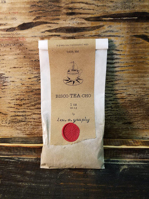 Organic Bisco-tea-cho Green Tea {green}