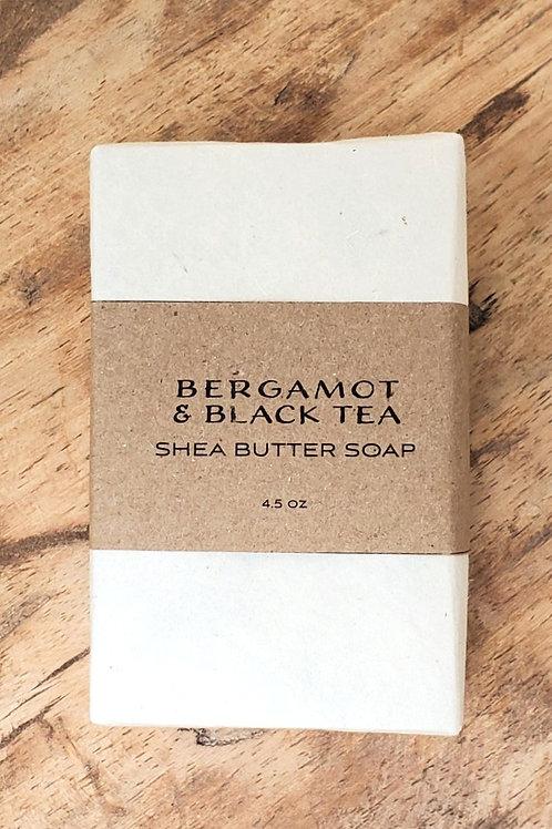 Bergamot & Black Tea Shea Butter Soap