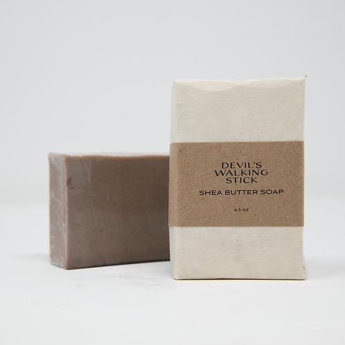 Devil's Walking Stick Shea Butter Soap