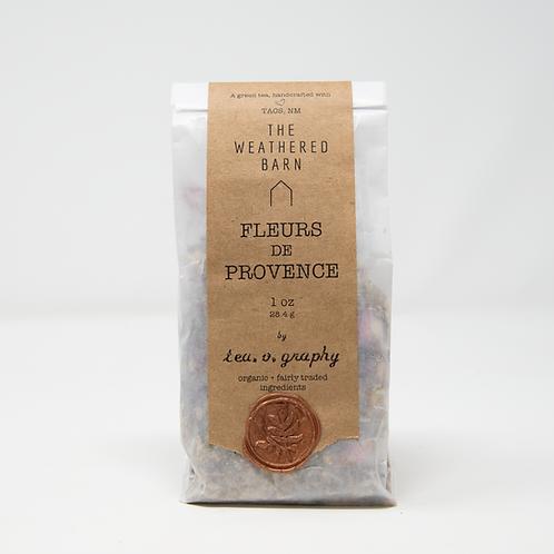 Organic Fleurs de Provence Tea {green}