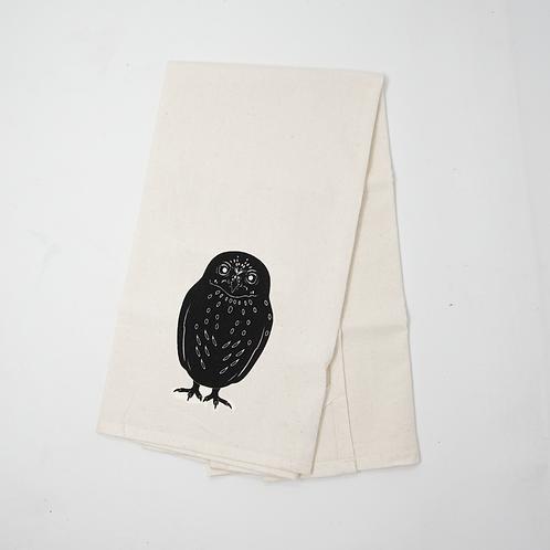 Owl Flour Sack Towel