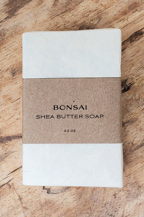 Bonsai Shea Butter Soap