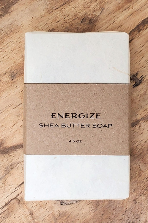 Energize Shea Butter Soap