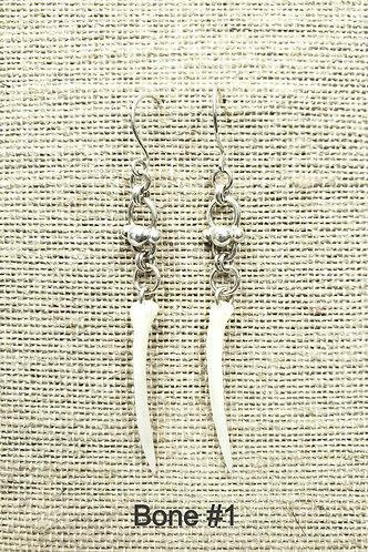 Fish Bone Earring Collection