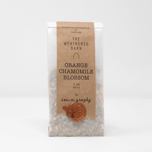 Organic Orange Chamomile Blossom Tea {herbal}