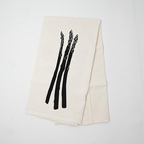 Asparagus Flour Sack Towel