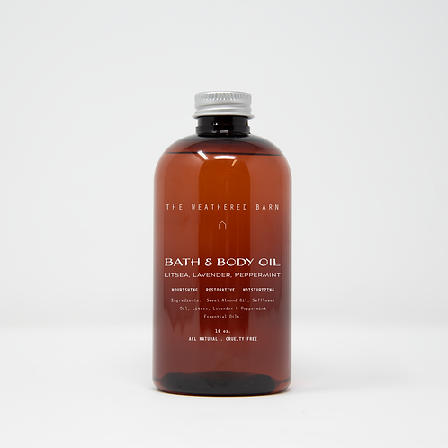Litsea-Lavender-Peppermint Bath & Body Oil