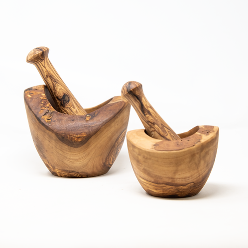 Olivewood Mortar and Pestle