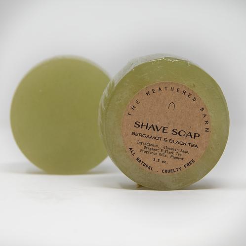 Bergamot & Black Tea Shave Soap