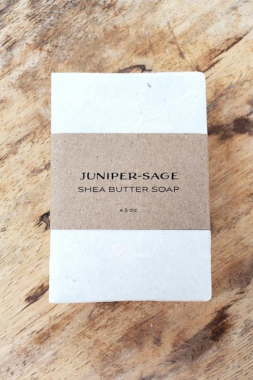 Juniper - Sage Shea Butter Soap