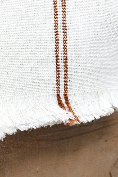 Copper Stripe Woven Cotton Napkin