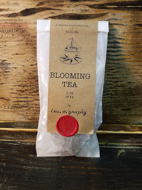 Organic Blooming White Tea