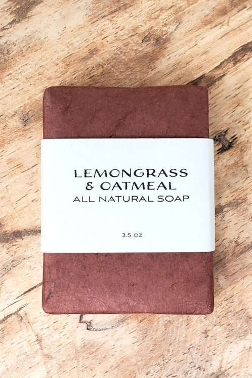 Lemongrass & Oatmeal Soap