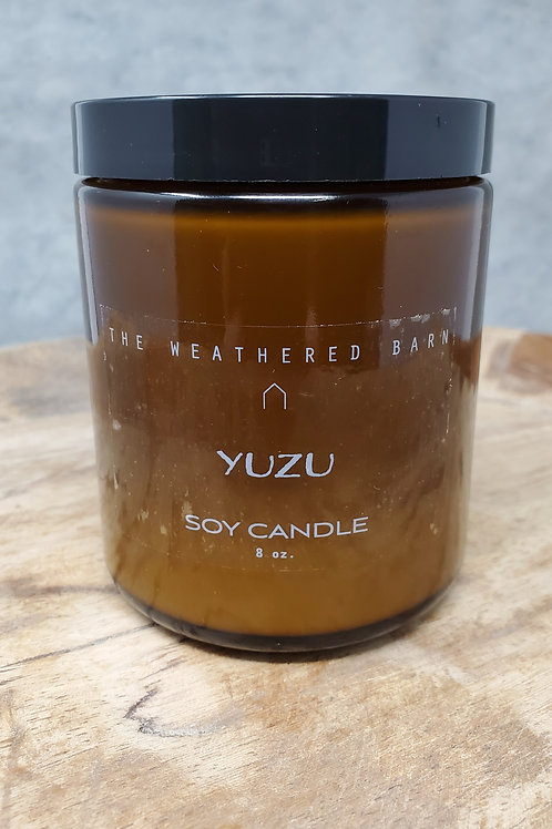 Yuzu Hand Poured Soy Candle