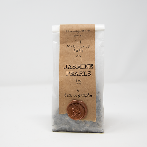 Organic Jasmine Pearls {green}
