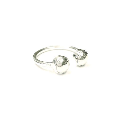 Hammered Dome Rings