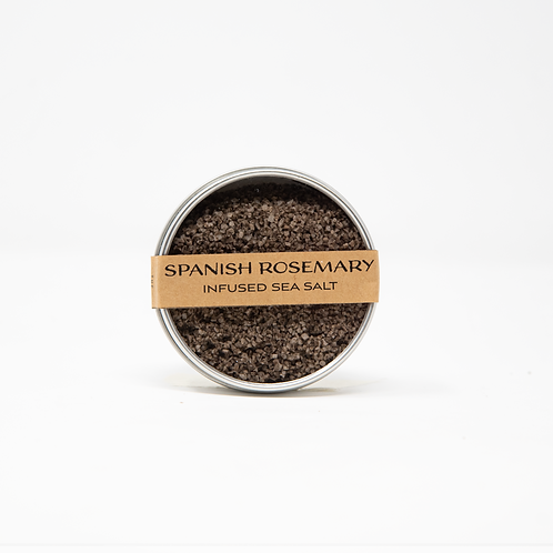 Spanish Rosemary Smoked Sea Salt