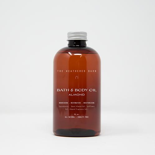 Almond Bath & Body Oil