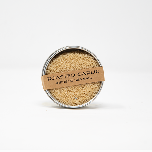 Roasted Garlic Infused Sea Salt