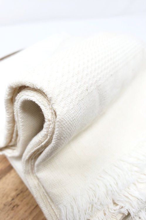Natural Woven Cotton Towel