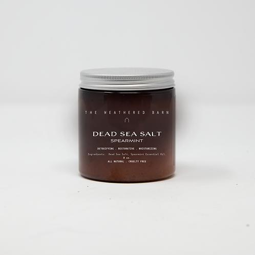 Spearmint Scented Dead Sea Salts