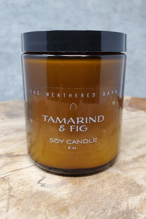 Tamarind & Fig Hand Poured Soy Candle