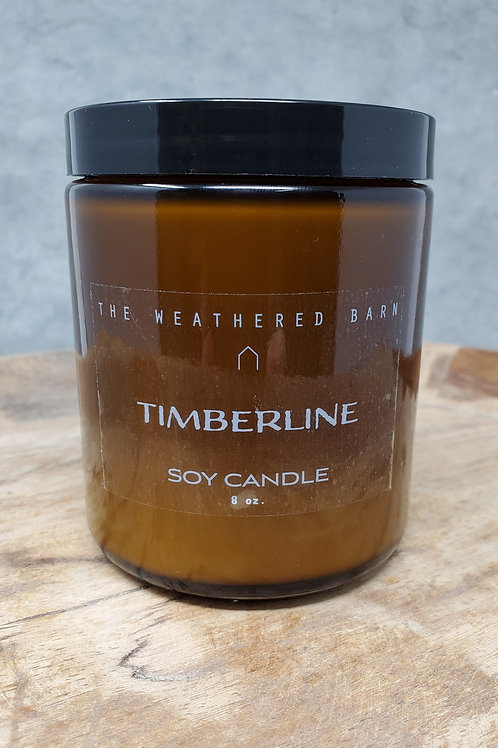 Timberline Hand Poured Soy Candle