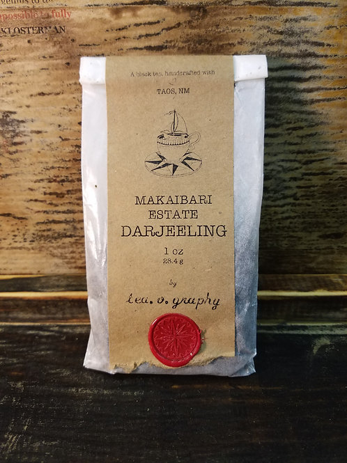 Organic Makaibari Estate Darjeeling Tea {black}